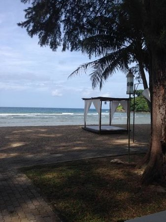 Thavorn Beach Village Resort & Spa: view from the beach villa