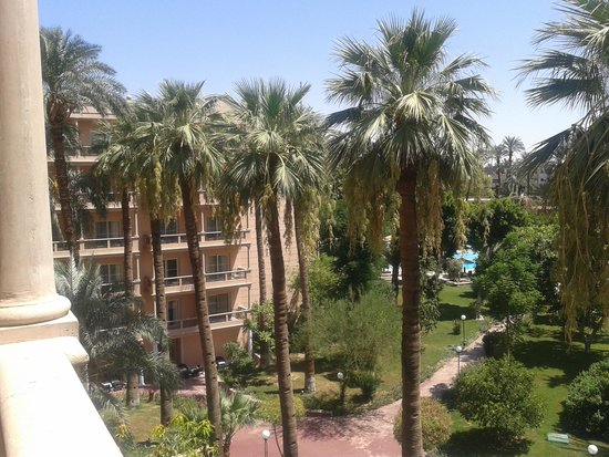 Pavillon Winter Luxor: One picture, showing the view!