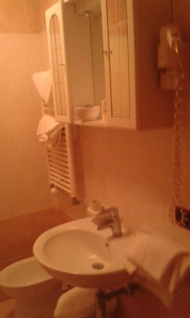 Hotel Alle Torri: bathroom