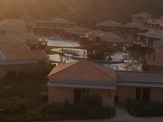 La Marquise Luxury Resort Complex: The view from the roof of the lobby