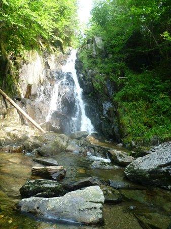 Connecticut Lakes Region : Little Hellgate Falls