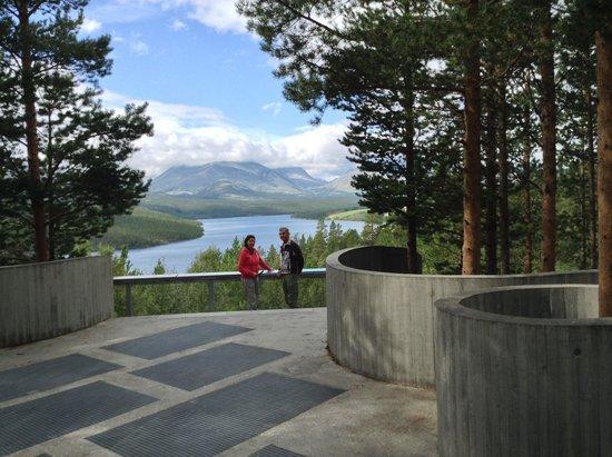 Nasjonale Turistveier, Solbergplassen