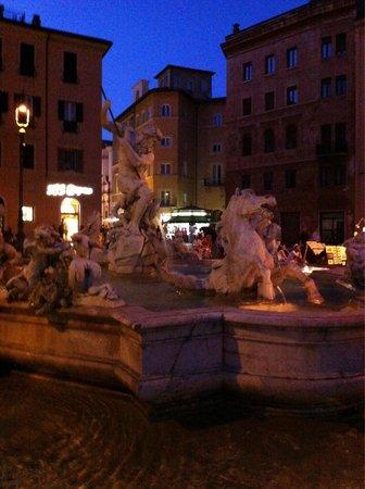 Piazza Navona : Di notte