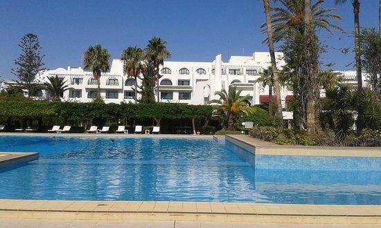 Hasdrubal Thalassa Hotel & Spa Port El Kantaoui: Бассейн