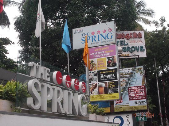 The Spring Hotel: Signage