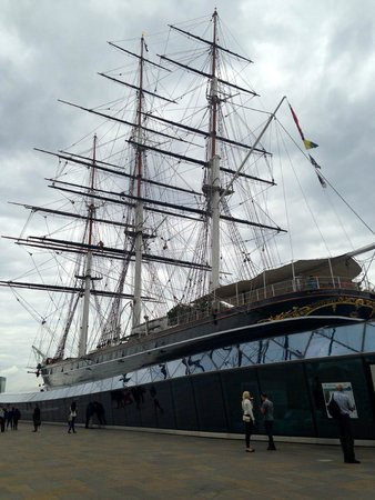Cutty Sark: The old lady herself