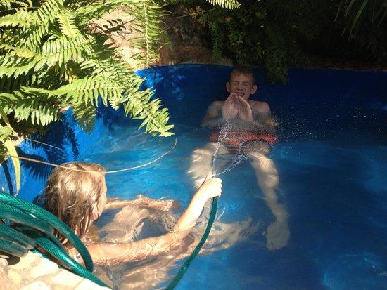 Casa OsmaryAlberto: in het zwembadje