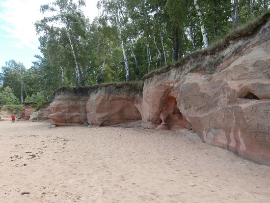 Veczemju Mantinu Cliffs: Cliffs