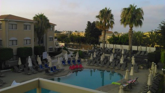 The King Jason Paphos: view from room 26 balcony