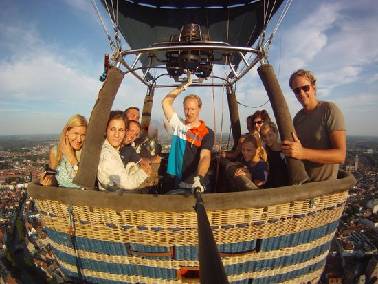 Bruges Ballooning: magic day
