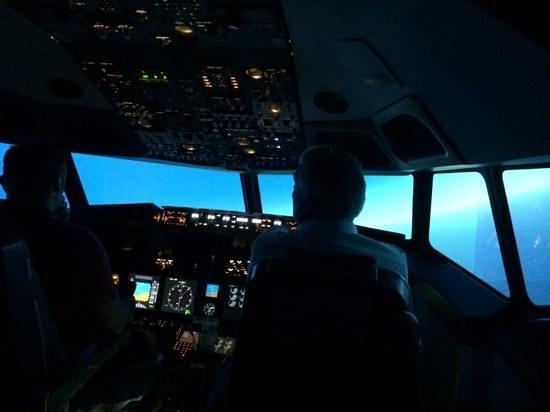 SimSpot: The flight deck...