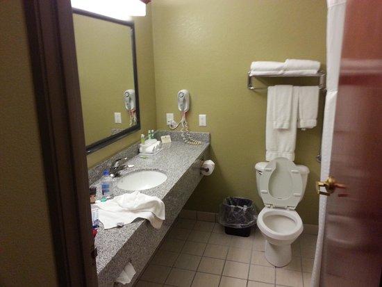 Holiday Inn Express Bedford: bathroom