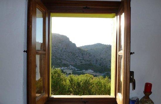 Cortijo Fuente Marchal: Vista desde nuestra habitación