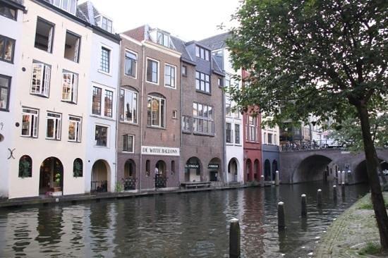 Canals area: каналы в Утрехте