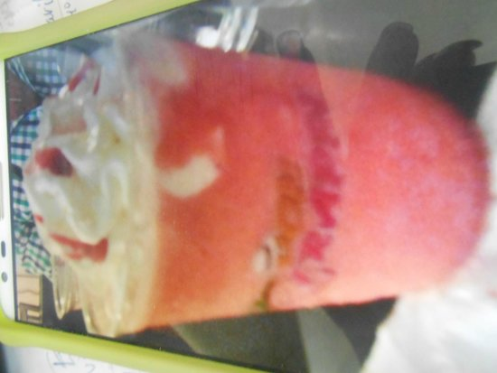 Don Maceta: Frappe ,Strawberry and Bananas!!