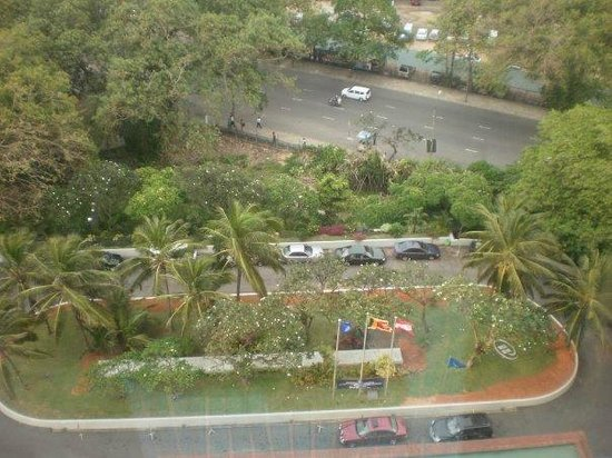 Hilton Colombo: View from our room