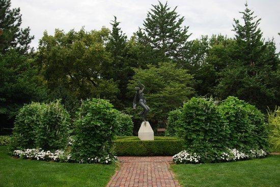 Sunken Gardens: Wonderfully planned garden