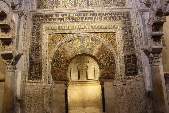Cathédrale de Cordoue : Mihrab