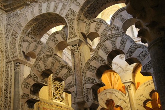 Mezquita Cathedral de Cordoba: another beautiful arches