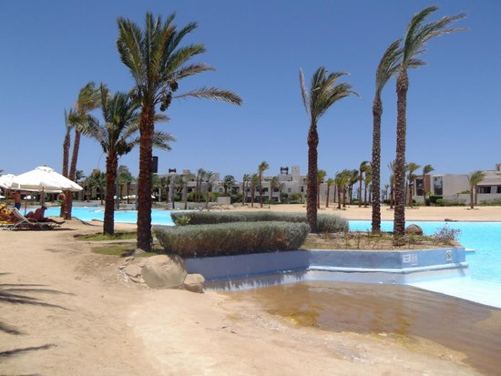 Port Ghalib Resort: laguna