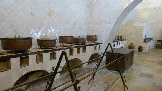 Sintra National Palace: Kitchen