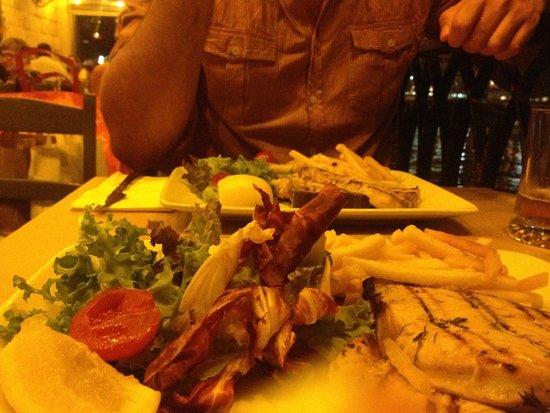 Piccolo Padre Pizzeria: Grilled swordfish