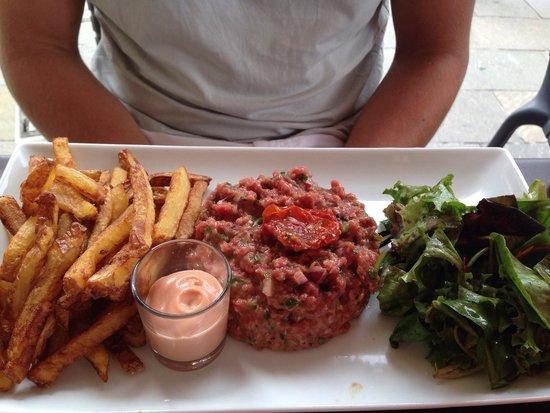 Les 4 Z'arts : Steak tartare