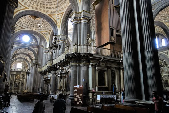 Catedral Basilica de Puebla : Внутри
