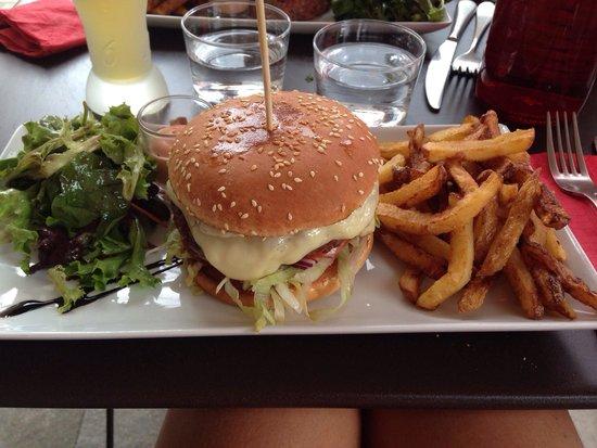 Les 4 Z'arts : Hamburger
