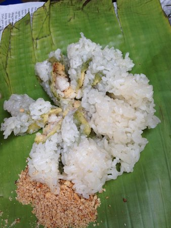 Hanoi Street Food Tour: sticky rice