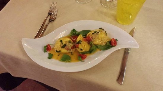 Ristorante San Provolo: Ravioli with sea bass