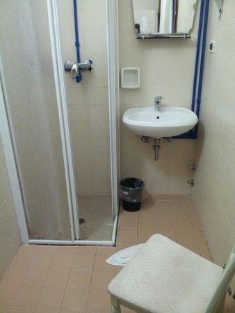 Universo Nord Hotel: Salle de bain extérieure privative