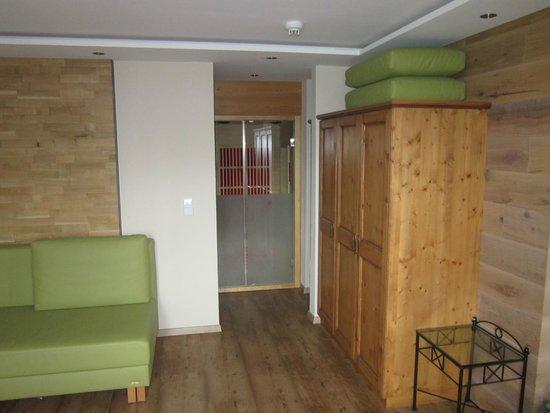 Das Alpenwelt Resort : Infrarotkabine
