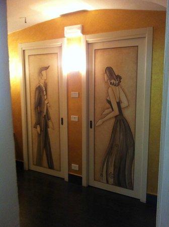 Restaurant Mistica: sala da bagno