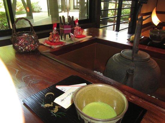 Tsukinoakari : welcome tea