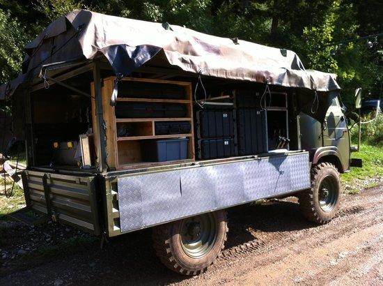 Le Sappey-en-Chartreuse, Frankrike: Camion Battlefield
