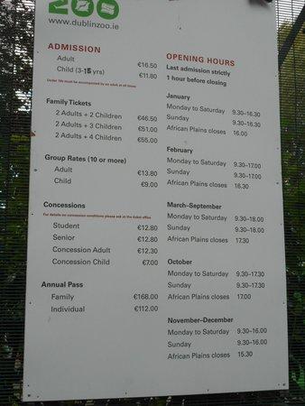 Dublin Zoo - definitely worth at trip despite the cost