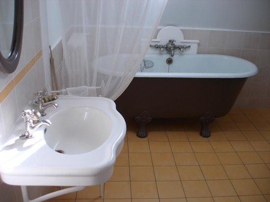 Chateau de Nazelles Amboise : Banheiro.