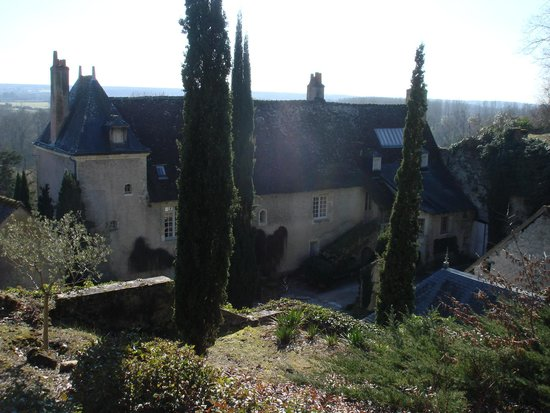 Chateau de Nazelles Amboise : Vista a partir do Bosque