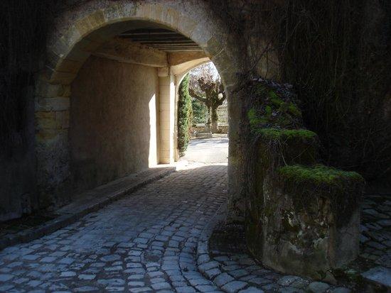 Chateau de Nazelles Amboise : Entrada de carros