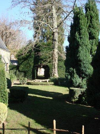 Chateau de Nazelles Amboise: Jardim