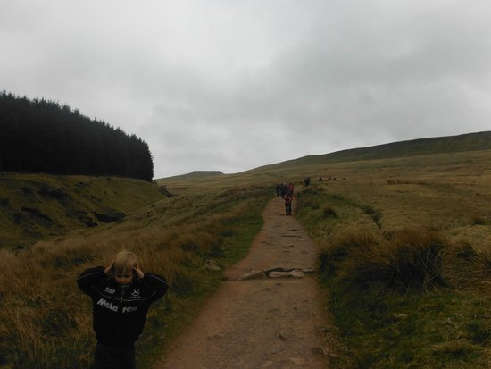 Pen-y-Fan: where good foot wear