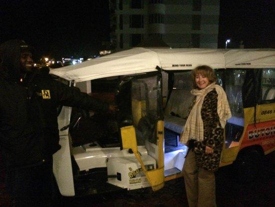 138 Marine Beachfront Guesthouse: The Tuk-Tuk Taxi