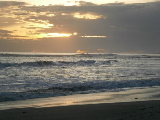 The Surf Sanctuary: Sunset North of Magnific Rock