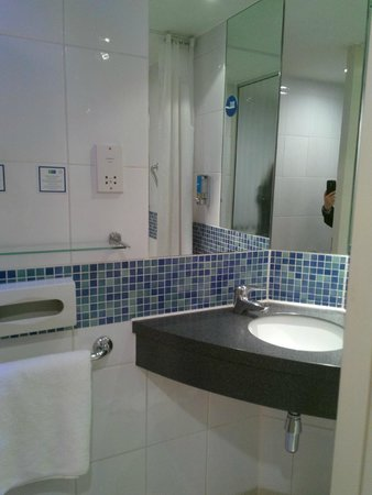 Holiday Inn Express Newcastle City Centre: Bagno