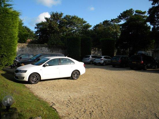Les Villas d'Arromanches : parking