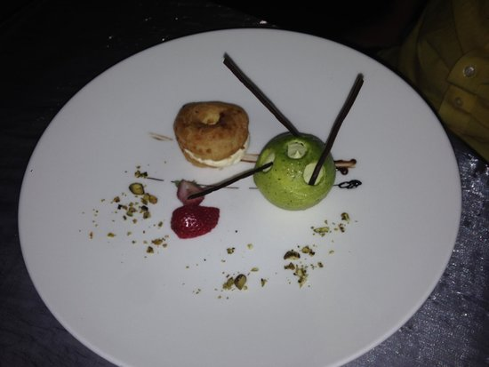 Le Blanc Spa Resort: Dessert at french restaurant