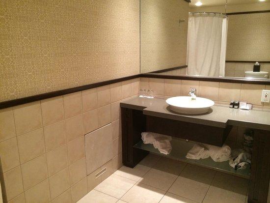 Hotel Le Bonne Entente: Cocooning room bathroom