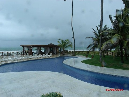 Porto de Galinhas Praia Hotel: Visão da ponte sobre a piscina