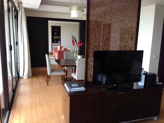 Raffles Seychelles: Linving room